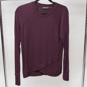 Athleta Layered Bottom Sweater